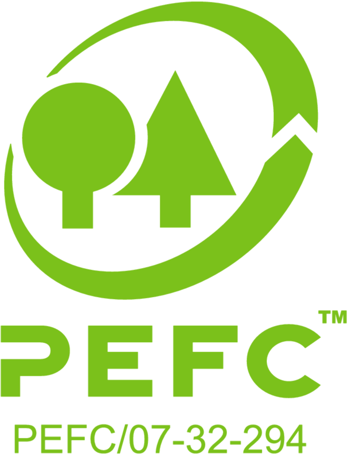 The entire Duofuse® range is PEFC certified